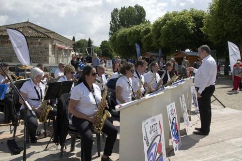 OHVS JAZZ ORCHESTRA à la fête du fleuve à Saintes