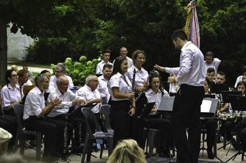 Concert avec la banda Espagnole 2019